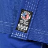 Web Lapel tag blue