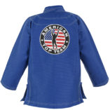 Web back Jacket blue