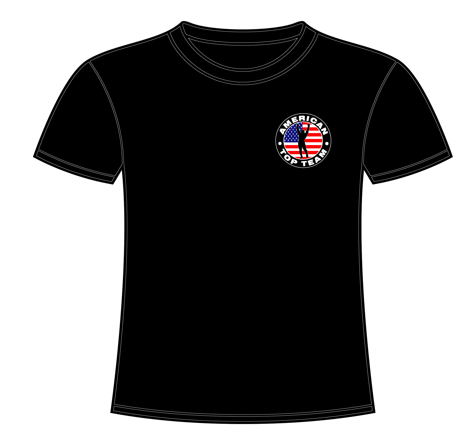15d5490b8 Original Logo T-shirt Black - American Top Team