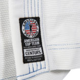 White gi lapel patch