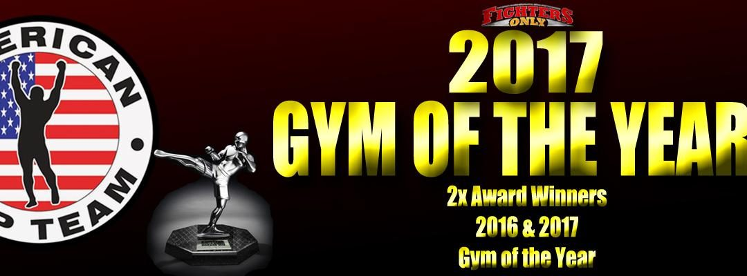 American Top Team Announced as  Gym of the Year 2017!